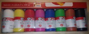 Acrylfarben vom Aldi