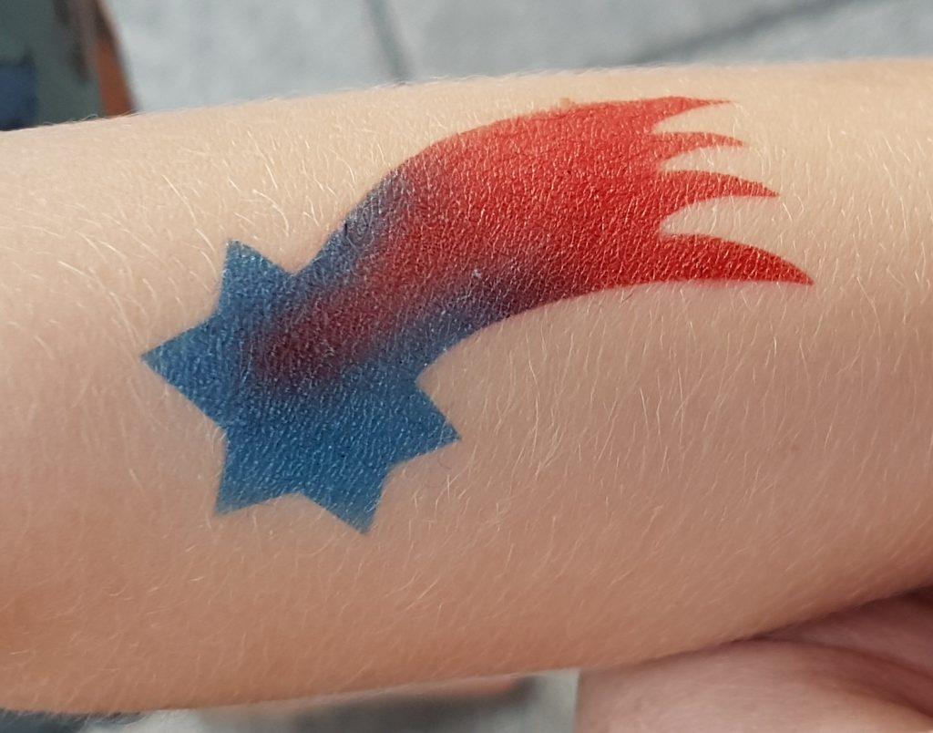 Airbrush Tattoo Zum Kindergeburtstag Papas Bastelblog