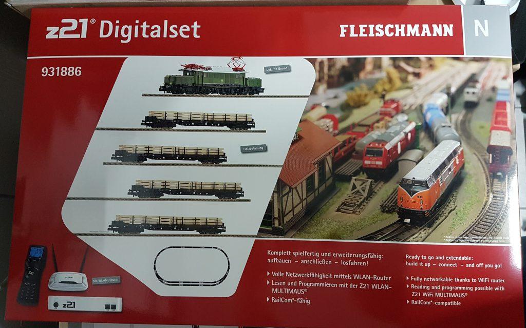 Endlich da!!! z21 Digitalset (Startset) von Fleischmann
